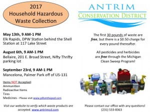 Annual Household Hazardous Waste Collection - May 13, 9am - 1pm